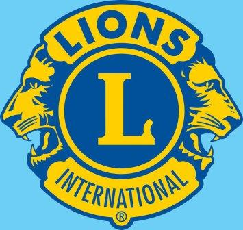 Lion Logo Blue