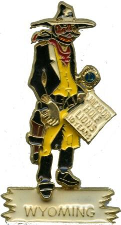 JHLC 10th Anniversary Pin